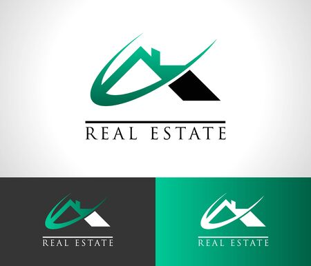 Immobilien-Haus-Dach-Symbol