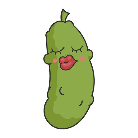 Sexy Funny Dill Pickle Cartoon