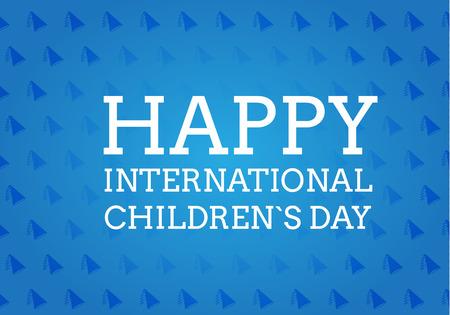 childrens day: International children`s day vector background