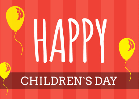 youthful: International children`s day vector background