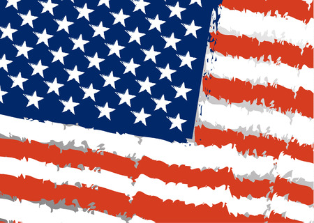 forth: American flag day background