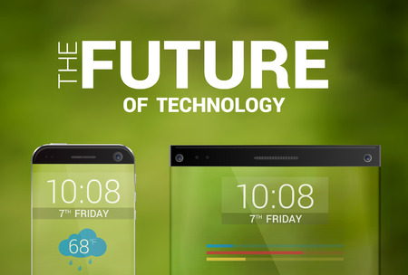 mainstream: The future of technology transparent devices smartphone and tablet