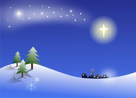 guiding: Christmas night