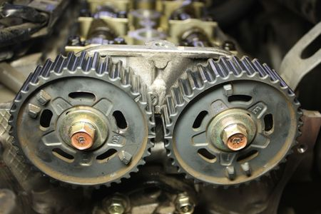 disassembly: twin cam car engine