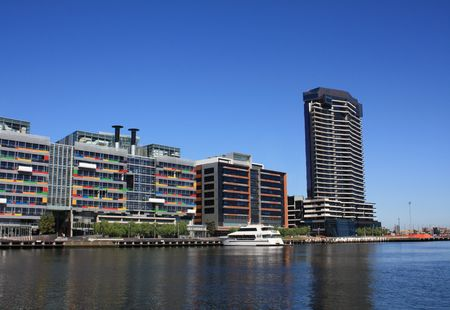 docklands: Melbourne, Australia - Docklands area