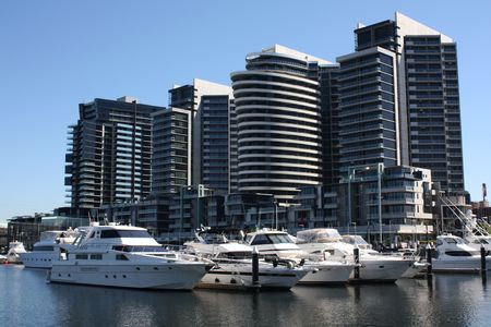 docklands: Docklands area in Melbourne, Australia