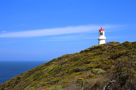 Cape Schanck lighthouse in Victoria, Australia