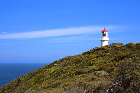Cape Schanck lighthouse in Victoria, Australia
