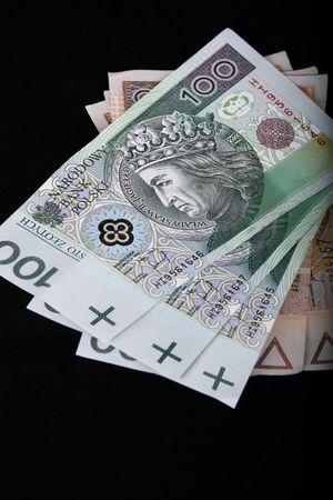 la monnaie polonaise, 100 et 200 zlotys billets Banque d'images - 3892243