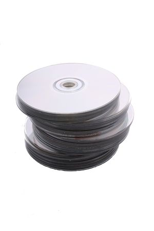 cd and dvd discs, computers technology it Stock Photo - 3889203