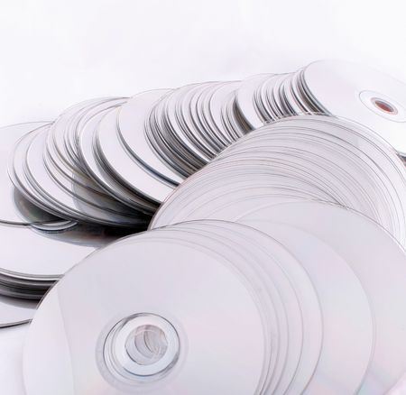 cd and dvd discs, computers technology it Stock Photo - 3892514