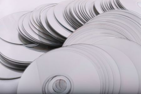 cd and dvd discs, computers technology it Stock Photo - 3892494