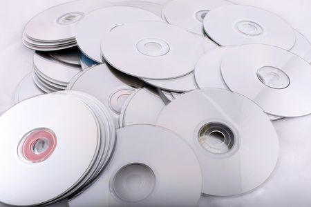 cd and dvd discs, computers technology it  photo