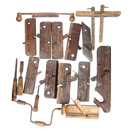 old tools for carpenter