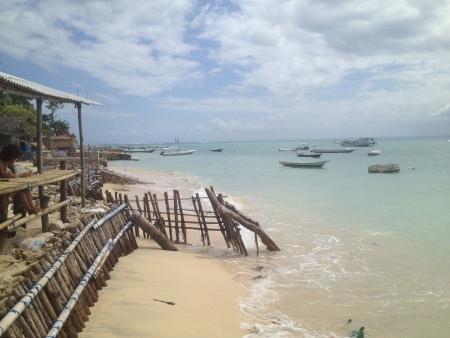 shack: Small shack on beach