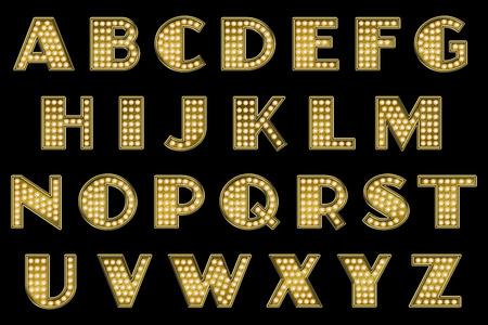 Vaudeville Alphabet Collection