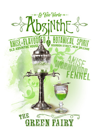 NOLA Collection Absinthe 版權商用圖片