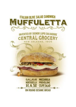 NOLA Collection Muffuletta Sandwich