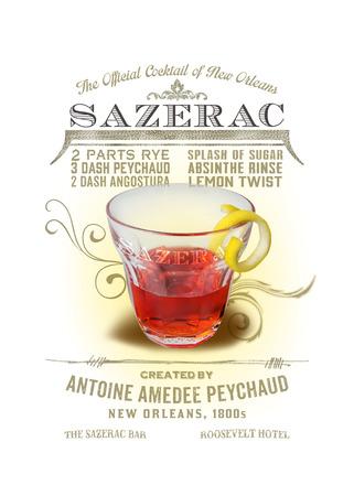 NOLA Collection Sazerac Cocktail