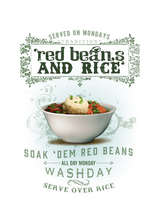 NOLA Collection Red Beans and Rice 版權商用圖片