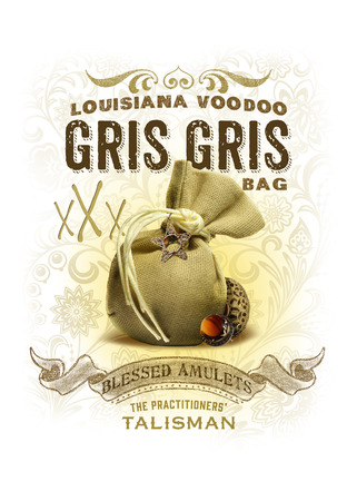 NOLA Collection Gris Gris Voodoo Bag