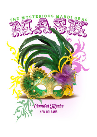 NOLA Collection Mardi Gras Mask