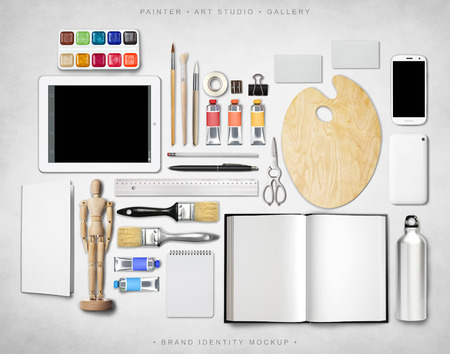 schöpfung: Brand Identity Mockup