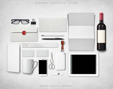 Brand Identity Mockup 版權商用圖片 - 41850408