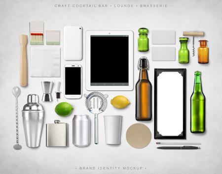 brand identity: Brand Identity Mockup