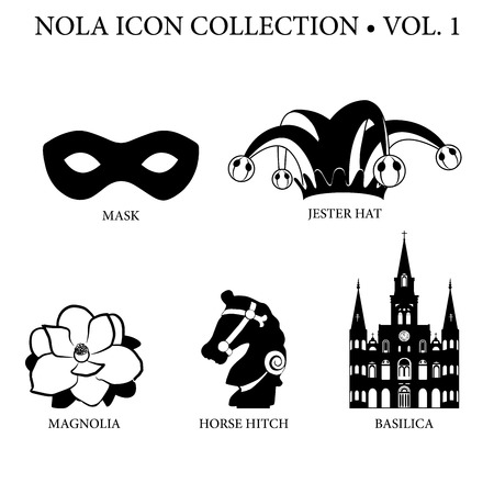 New Orleans Icon Collection Vol 1