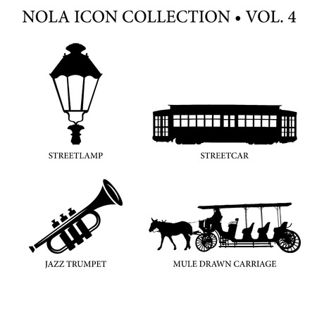 cast iron: New Orleans Icon Collection Vol 4