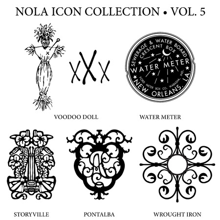 New Orleans Icon Collection Vol 5