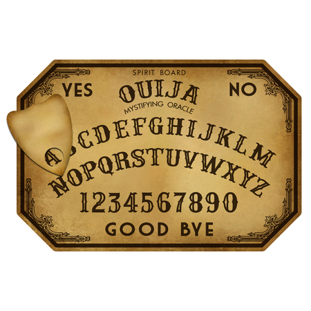 Halloween Stock Image Ouija Board
