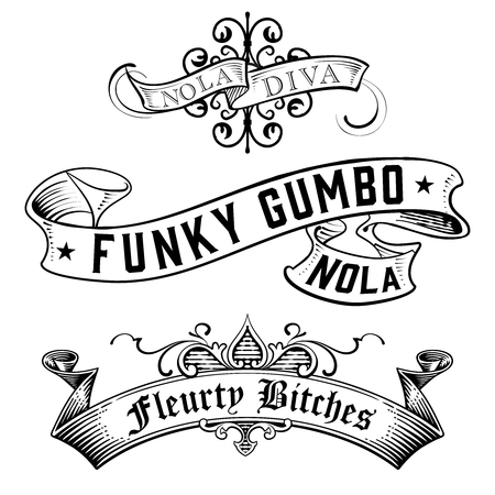 WordArt Collection Funky Gumbo NOLA Diva