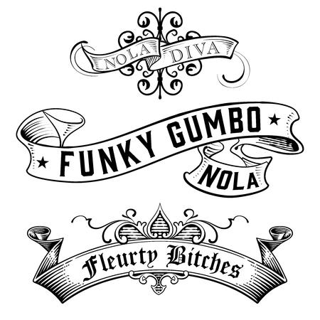 WordArt Collection Funky Gumbo NOLA Diva