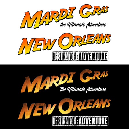 WordArt Collection Mardi Gras New Orleans Adventure