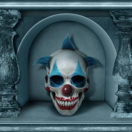Kamer van de Inzameling van het Ontwerp van Halloween van de Schedel van de Schedel