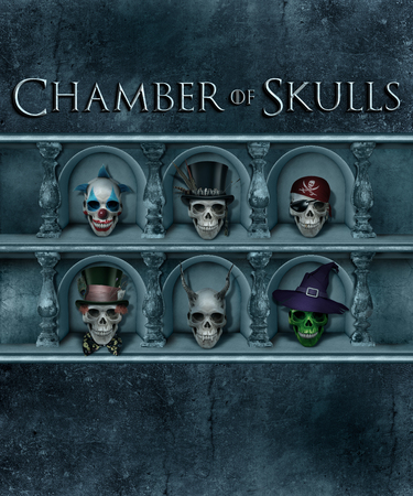 Chamber of Skulls Halloween Poster Design Collection