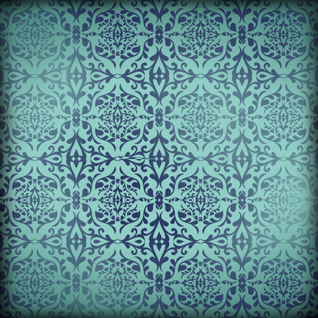 New Orleans Damask Pattern Wallpaper Parchment Paper Grunge Background Texture