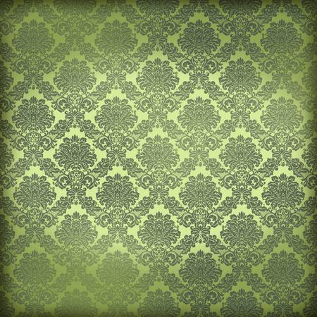 New Orleans Damask Pattern Wallpaper Papier Parchemin Texture De Fond