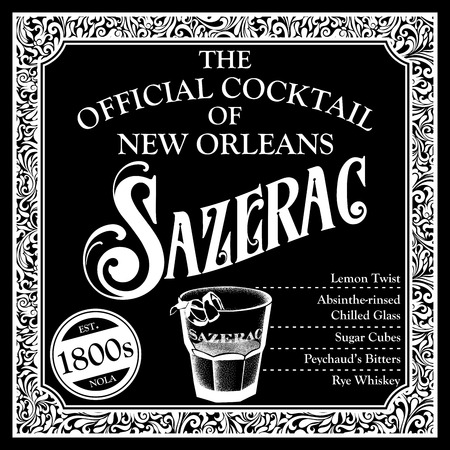 Historic Libations of New Orleans Cocktail Ingredients Collection