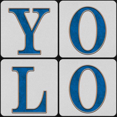 Combo de mots de carreaux de trottoir de la rue de la Nouvelle-Orléans
