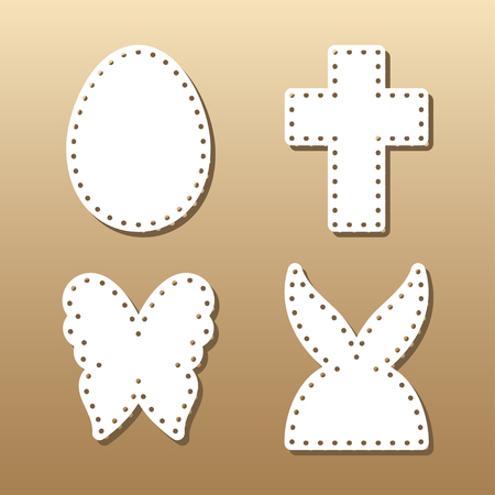easter lace plates mock ups for gift tags cake toper and cards cutout negle Choice Image