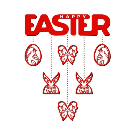 Laser Cut Template For Easter Greeting Foldout Cards Invitations – Easter Invitation Cards