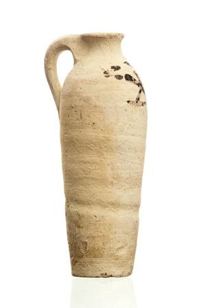 Ancient Egyptian Clay Pot photo