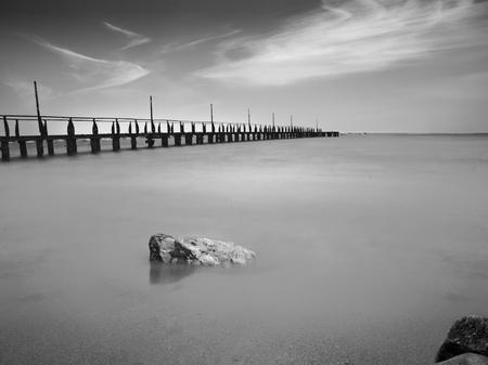 Bridge into The Sea photo