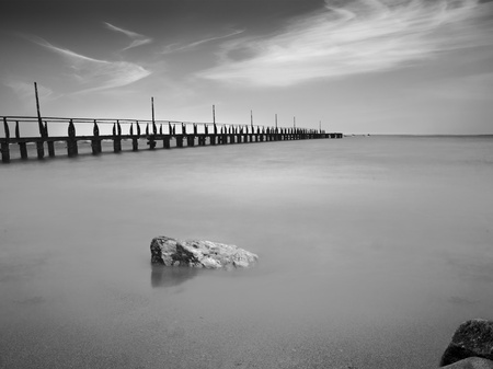 Bridge into The Sea photo