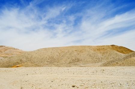 Desert Hills Under Blue Sky photo