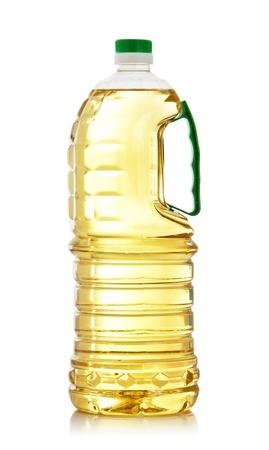 Cooking Oil Bottle isoliert auf weiß