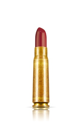 Bullet Lipstick  Lethal Cosmetics  Stock Photo